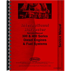 International Harvester 186 Hydro Tractor Engine Service Manual (1976-1981)