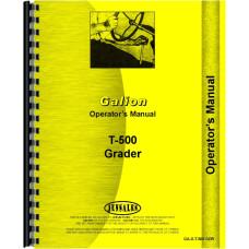 Galion T-500 Grader Operators Manual