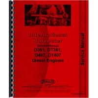 International Harvester 815 Combine Engine Service Manual (Early SN#) (Engine)