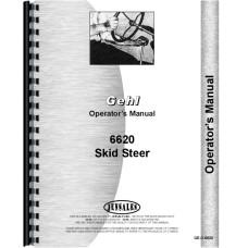 Gehl 6620 Skid Steer Loader Operators Manual