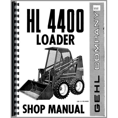 Gehl 2600 repair manual Gehl Hl Wiring Diagram on