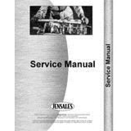 New Holland 1520 Tractor Service Manual on