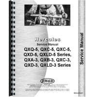 Hough HFH Pay Loader Hercules Engine Service Manual (Pay Loader)
