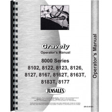 Gravely 8177 Lawn & Garden Tractor Operators Manual