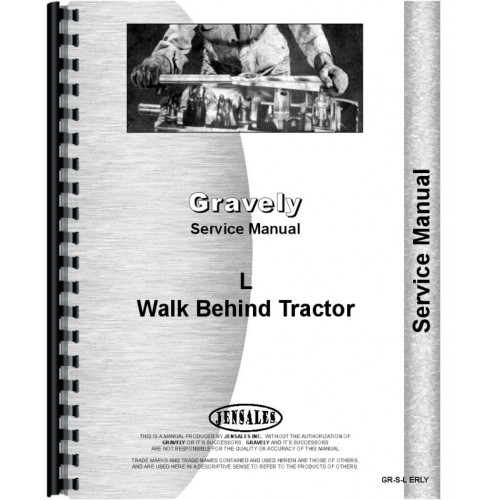 gravely l walk behind tractor service manual model l rh jensales com gravely 5260 service manual gravely 7.6 convertible service manual