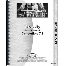 Gravely L Convertible Walk Behind Tractor Service Manual