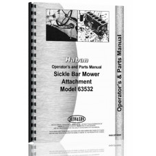 Image of Haban 4' & 5' Sickle Bar Mower Attachment Operators & Parts Manual