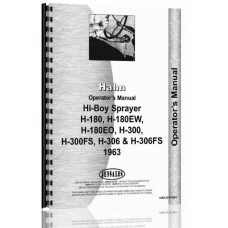 Hahn H306FS Tractor Operators Manual