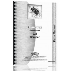 Hancock 222 Scraper Parts Manual