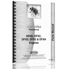 Hercules Engines DFXH Engine Parts Manual