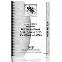 Hercules Engines DJXB Engine Parts Manual