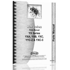 Hercules Engines YXB Engine Parts Manual