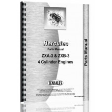 Hercules Engines ZXB-3 Engine Parts Manual