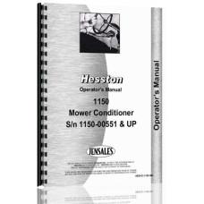 Image of Hesston 1150 Mower Conditioner Operators Manual