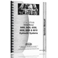 Hesston 6400 Windrower Service Manual