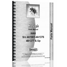Hough HAH Pay Loader Parts Manual (SN# 4A-1001 - 4A-1376, 4B-1377 & Up)