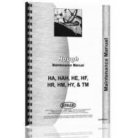 Hough HAH Pay Loader Preventative Maintenance Manual