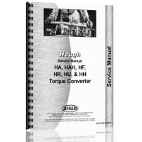 Hough HAH Pay Loader Torque Converter Service Manual
