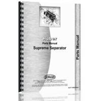 Huber Separator Parts Manual