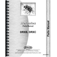 Hercules Engines DRXB Engine Parts Manual