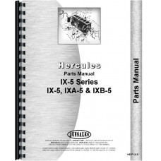 Hercules Engines IXB-5 Engine Parts Manual