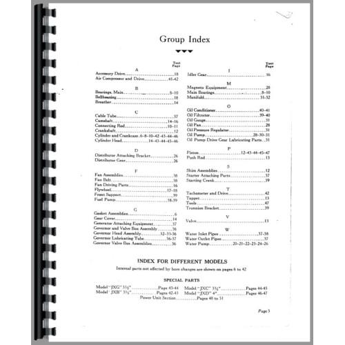Hercules jxc Parts Manual download