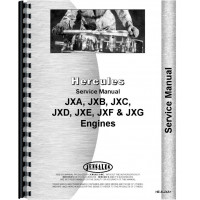 Hough HFH Pay Loader Hercules Engine Service Manual (SN# 85061 and Up) (Engine)