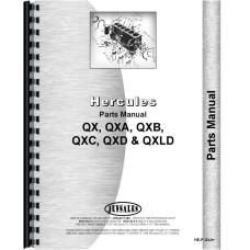 Hough H-30R Pay Loader Hercules Engine Parts Manual