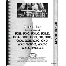 Hercules Engines Engine Service Manual (HE-S-OOA+)