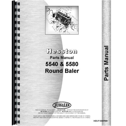 hesston round baler parts manual 5540 round baler 5580 round baler rh jensales com New Hesston Square Baler Hesston Round Hay Balers
