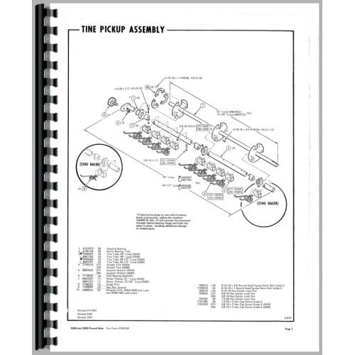 hesston 5580 round baler parts manual rh jensales com Hesston 5540 Round Baler Manual Hesston 5530 Baler Problems
