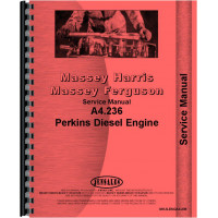 Versatile 150 Tractor Engine Service Manual (1980)