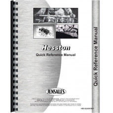 Hesston 1580 Quick Reference Service Manual