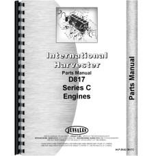 Hough H-100C Pay Loader IH  C Series Engine Parts Manual