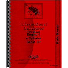 International Harvester 140 Tractor Engine Parts Manual