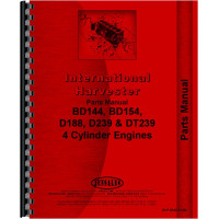 Hough H-25B Pay Loader IH Engine Parts Manual (Diesel Only)