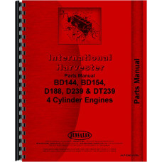 International Harvester 2500A Industrial Tractor Engine Parts Manual (Engine)