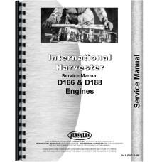 Hough H-25B Pay Loader IH Engine Service Manual