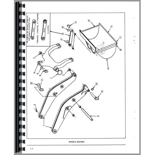 Hough H 60 Pay Loader Parts Manual