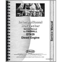 International Harvester 4156 Tractor Engine Service Manual