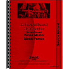 Hough H-90C Roosa Master Injection Pump Service Manual