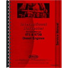 Hough H-90C Pay Dozer IH Engine Service Manual (Engine)