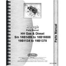 Hough HH Pay Loader Parts Manual (SN# 18B1449-18B1888, 19B1134-19B1378)