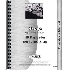Hough HR Pay Loader Operators Manual (Sn 42,400 & Up)