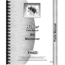 Image of Huber BG Grader Parts Manual