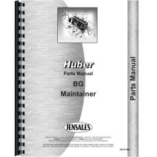 Huber BG Grader Parts Manual