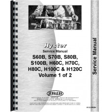 Hyster H120C Forklift Service Manual