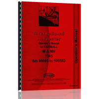 Farmall M Tractor Operators Manual (M Harvstr)