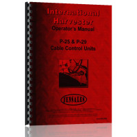 International Harvester TD18 Crawler Cable Control Attachment Operators Manual