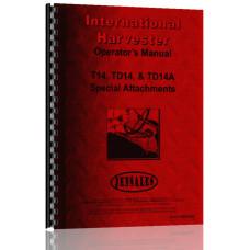 International Harvester TD14 Crawler Special Attachments Operators Manual (Attachments)